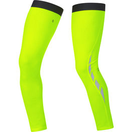 photo_Gore Visibility Thermo leg warmers Yellow fluo