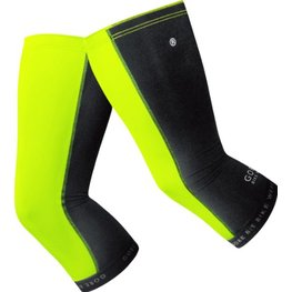 photo_Gore Universal knee warmers Yellow Fluo