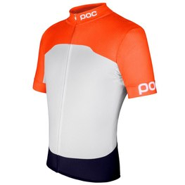 photo_Poc Avip Printed light SS jersey White orange
