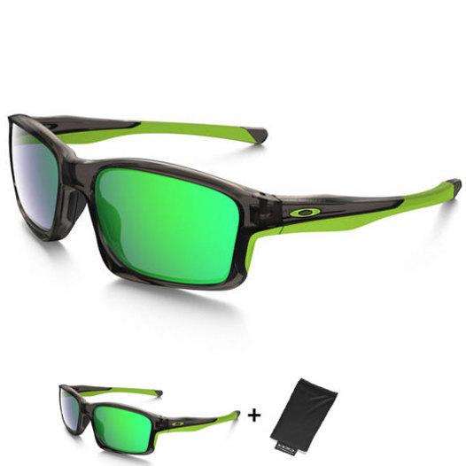 photo Oakley Chainlink sunglasses Grey Smoke Jade Iridium ... fc7bbae3fa1