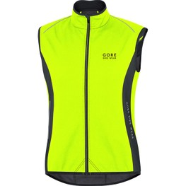 photo_Gore Power Windstopper vest Yellow fluo