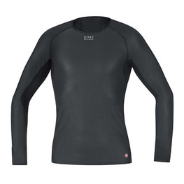 photo_Gore Windstopper LS base layer Black