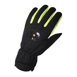 photo_Ale Winter glove Black Yellow fluo
