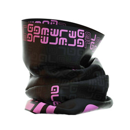 photo_Ale Identity neck warmer Black Pink Fluo