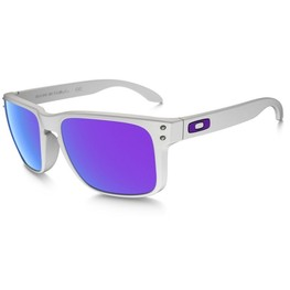 photo_Oakley Holbrook sunglasses Matte White Violet Iridium