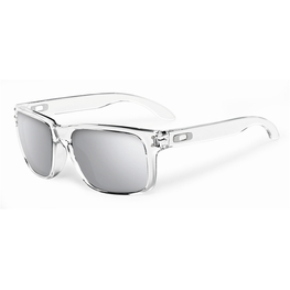photo_Oakley Holbrook sunglasses Clear Chrome Iridium