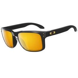 photo_Oakley Holbrook sunglasses Polished Black 24k Gold Iridium