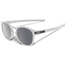 photo_Oakley Latch sunglasses Matte White Chrome Iridium