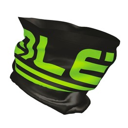 photo_Ale Frost neck Warmer Black Green fluo
