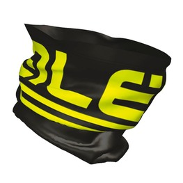 photo_Ale Frost neck Warmer Black Yellow fluo