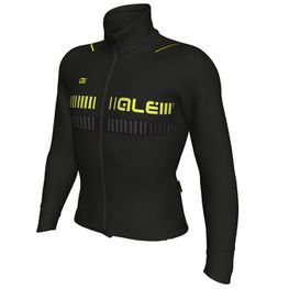 photo_Ale Clima 2.0 Nordik jacket Black Yellow fluo