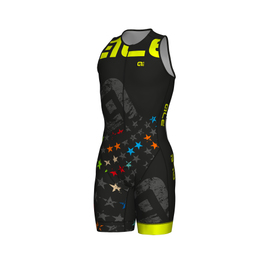 photo_Ale Long Tri Stelle SL trisuit zip front Black