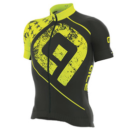 photo_Ale PRR Star SS jersey Black Yellow fluo