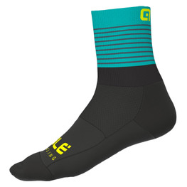photo_Ale Piuma Q-skin socks Black Turquoise
