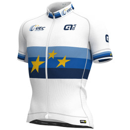 photo_Ale PRR UEC EU Champion SS jersey White