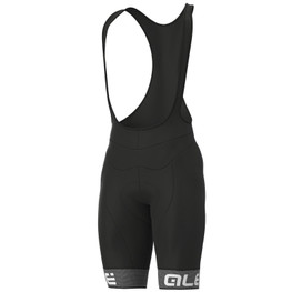 photo_Ale Solid Frequenza winter bibshorts Black White