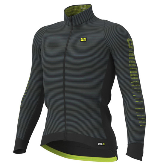 Ale PRR Thermo Road LS jersey Black Yellow foto
