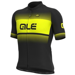 photo_Ale Solid Blend SS jersey Black Yellow fluo