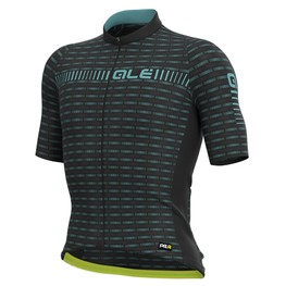 photo_Ale PRR Green Road SS jersey Black Turquoise