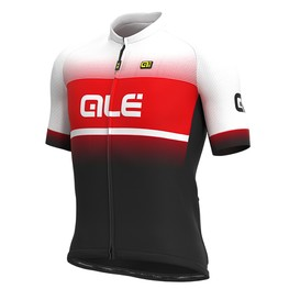 photo_Ale Solid Blend SS jersey Black Red