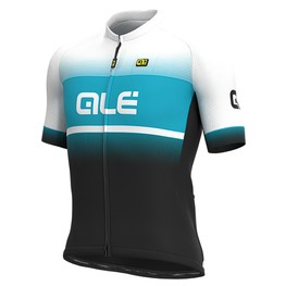photo_Ale Solid Blend SS jersey Black Turquoise