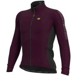 photo_Ale Solid Fondo LS jersey Bordeaux
