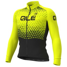photo_Ale Solid Summit LS jersey Yellow fluo