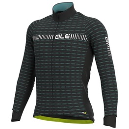 photo_Ale PRR Green Road LS jersey Black White