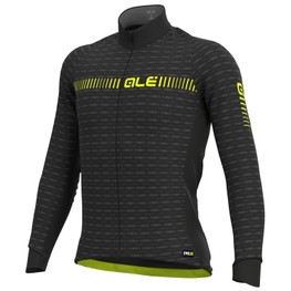 photo_Ale PRR Green Road LS jersey Black Yellow fluo