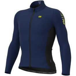 photo_Ale R-EV1 Clima Protection 2.0 Warm Race LS jersey Blue