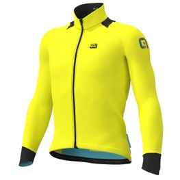 photo_Ale Klimatik K-Idro WR LS jersey Yellow fluo