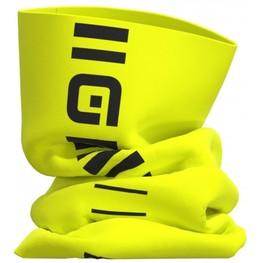 photo_Ale Identity neck warmer Yellow fluo