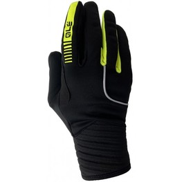 photo_Ale Wind Protection gloves Black Yellow fluo