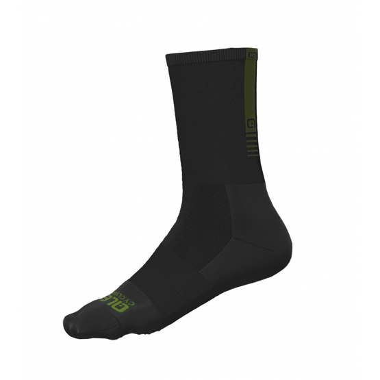 Ale Thermo Green Road socks Black Green  foto